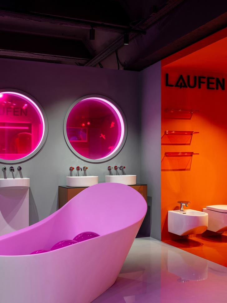 Фото №5 - В розовом свете: новый шоурум Laufen