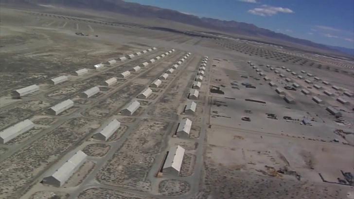 Фото №1 - Вот как выглядит самый большой в мире склад боеприпасов (видео)