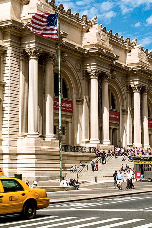 Фото №1 - 13 апреля 1870 в Нью-Йорке основан Музей искусства Метрополитен