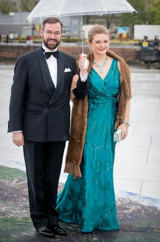 Фото №34 - Забавы королевского двора: самые интересные моменты юбилея Харальда и Сони