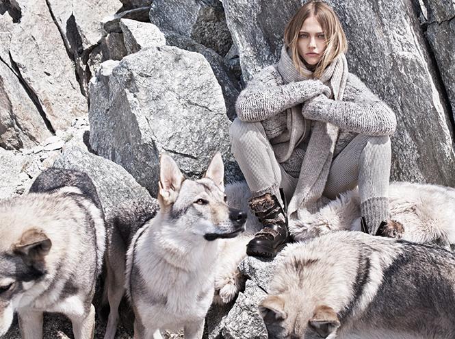 Фото №10 - Саша и волк: Саша Пивоварова для Mango