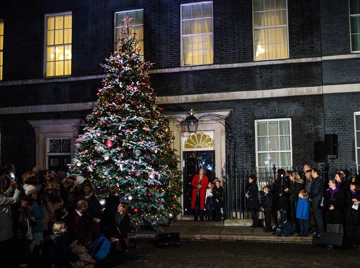 Фото №10 - Праздничное убранство резиденций королей и президентов в ожидании Рождества и Нового года