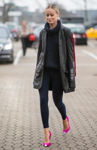 Фото №5 - Модный камбек: с чем носить леггинсы сегодня