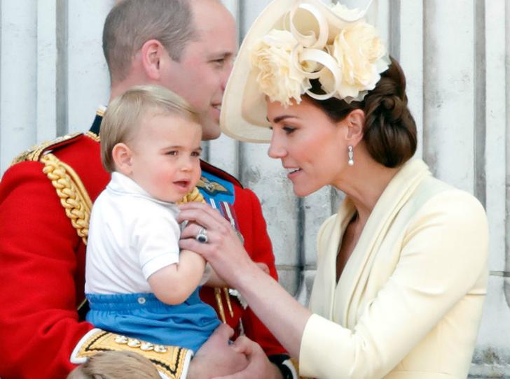 Фото №2 - Как герцогиня Кейт отучает принца Луи от плохих привычек