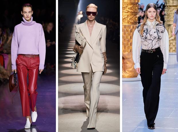 Фото №1 - Вместо джинсов: модные брюки осени и зимы 2020/21