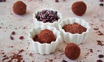 Шоколадный трюфель из красной фасоли
