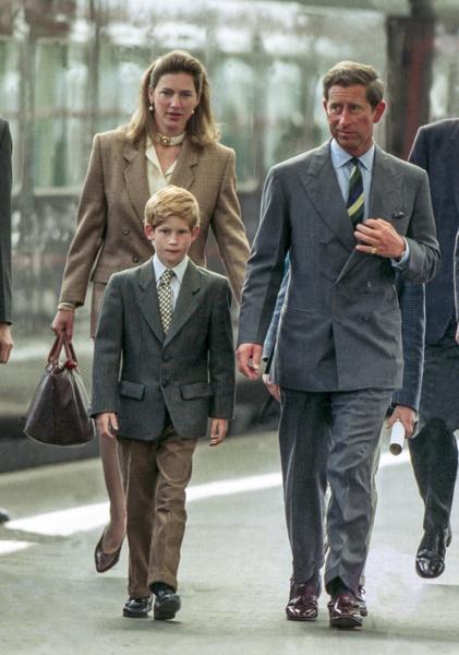 Принц Чарльз, принц Гарри, Тигги Легг-Бурк