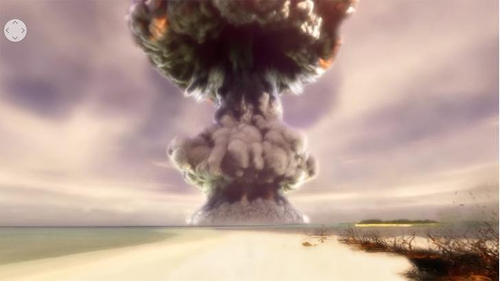 Фото №1 - 360-градусное панорамное видео испытаний водородной бомбы в 1952