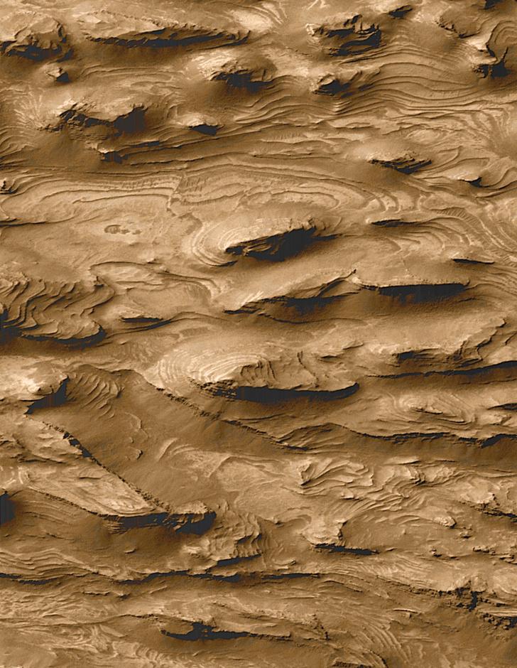 Фото №1 - На Марсе обнаружили «дюны-призраки»