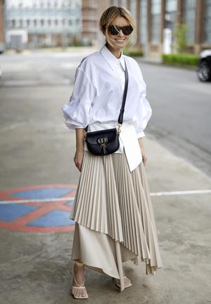 Фото №13 - С чем носить юбки макси: 7 универсальных сочетаний на любой случай