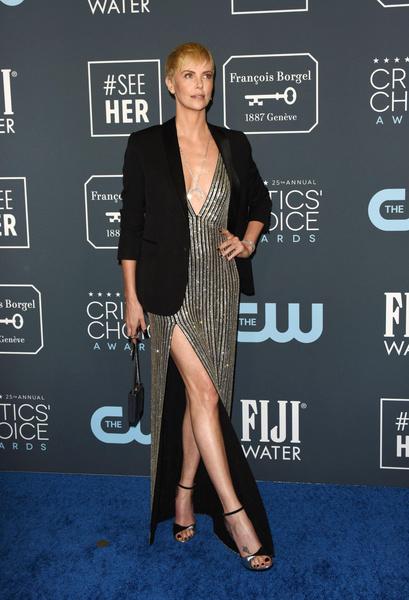 Шарлиз на премии Critics' Choice Awards.