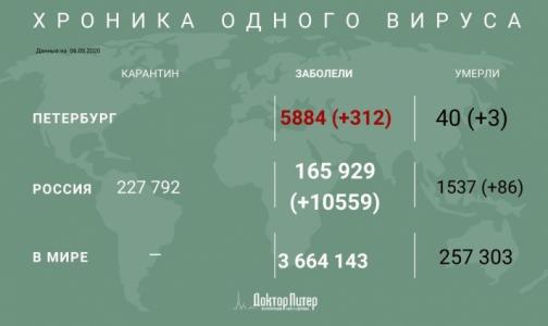 Фото №1 - За сутки в России выявлено 10559 заболевших коронавирусной инфекцией