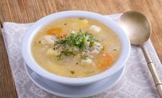 Сытный и диетический суп из цветной капусты с курицей – рецепт
