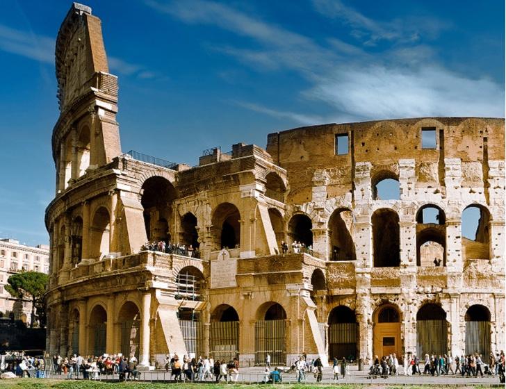 Фото №1 - Пейзаж с Колизеем