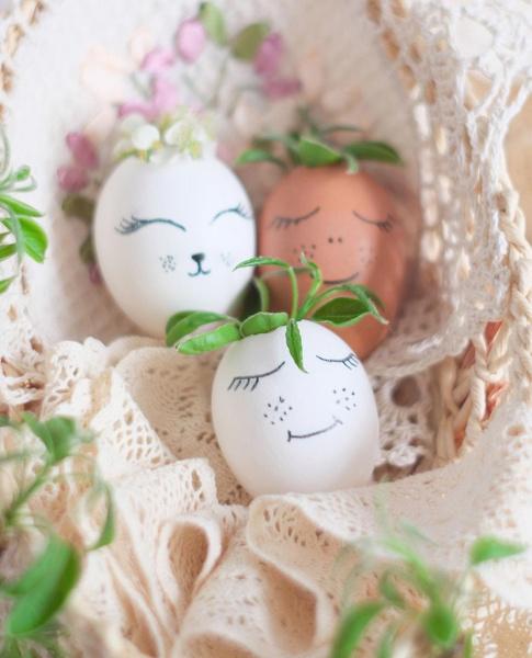 Фото №7 - Как прикольно покрасить яйца на Пасху: 15 креативных идей 🥚 🐇