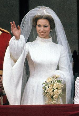 Фото №9 - Первая свадьба принцессы Анны: как выходила замуж дочь Елизаветы II