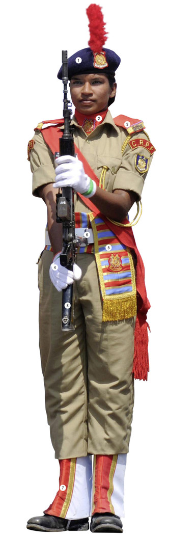 Фото №1 - Женский порядок: костюм силовых структур Индии