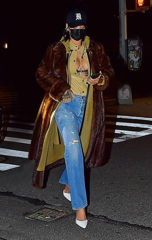Рианна в Нью-Йорке