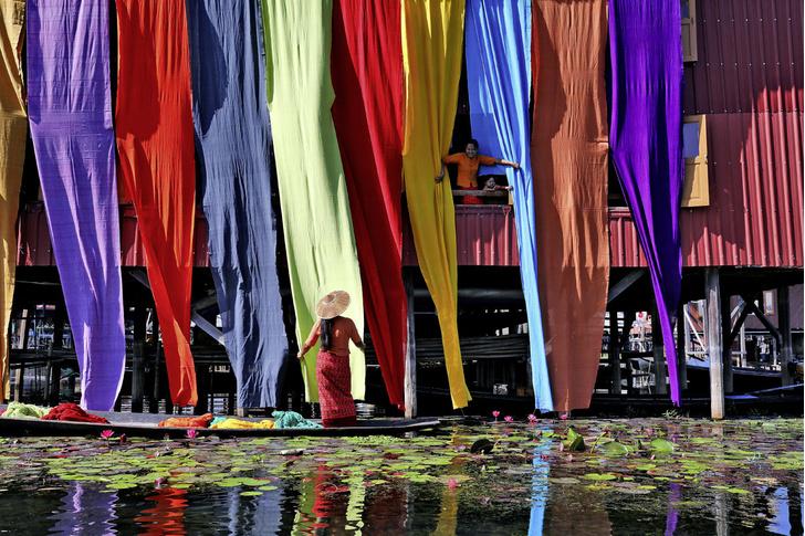 Фото №1 - Один кадр: Мьянма