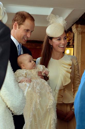 Фото №11 - Самые трогательные моменты крестин детей герцогов Кембриджских