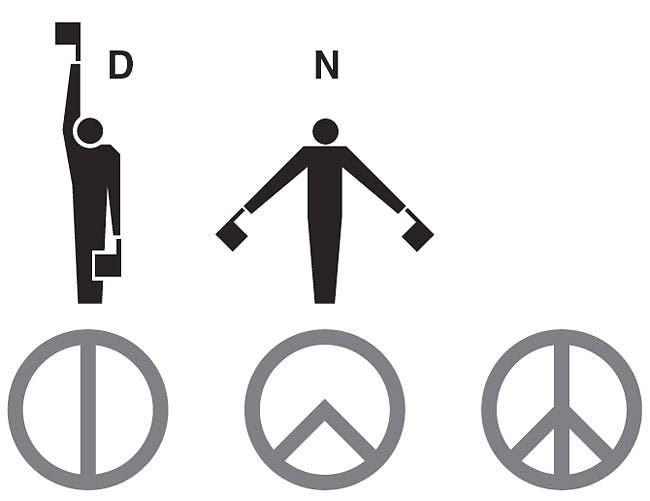 Фото №1 - Пацифик и анархия— как появились эти знаки