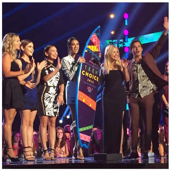 Фото №22 - Звездный Instagram: Teen Choice Awards 2015