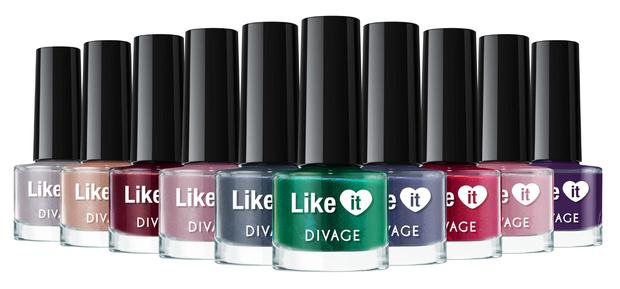 Фото №2 - Вещь дня: Коллекция лаков для ногтей Like it от Divage
