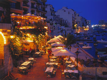 Вид на набережную острова Мальта