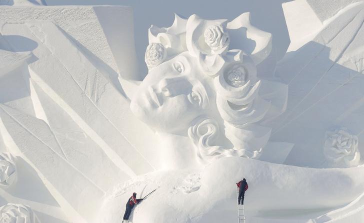 Фото №1 - Снежный город