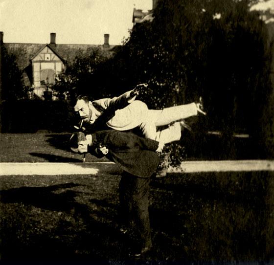 Фото №1 - Вольные упражнения