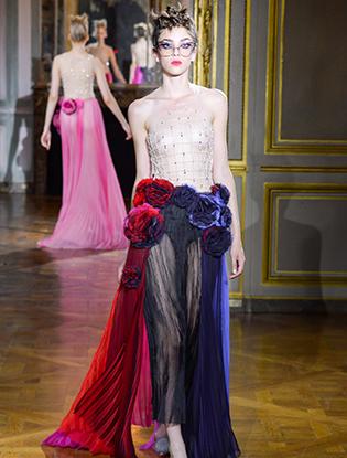 Фото №38 - Неделя Высокой моды в Париже: Ulyana Sergeenko Couture F2015