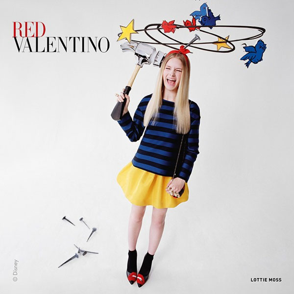 Фото №3 - Юная сестра Кейт Мосс снялась для Red Valentino