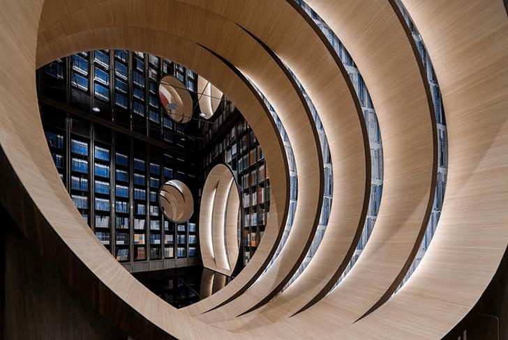 Фото №5 - Футуристичный книжный в Пекине по проекту X+Living