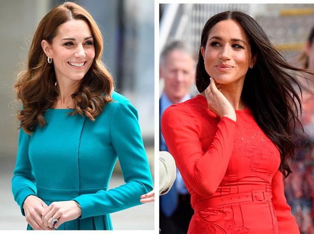Фото №1 - Почему Кейт носит старые наряды, а Меган покупает новые
