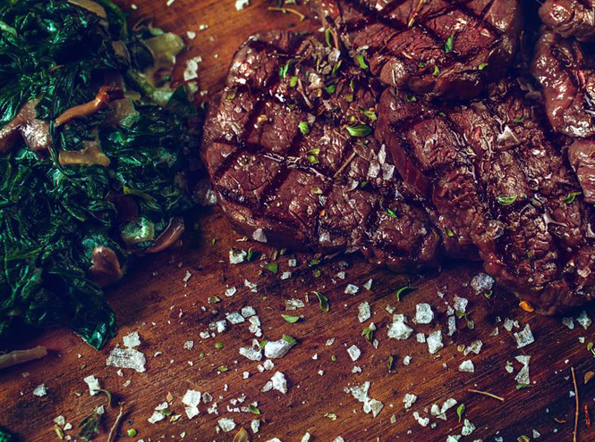 Фото №4 - Спагетти из мяса, лукум из говядины: чем удивляют в московских ресторанах