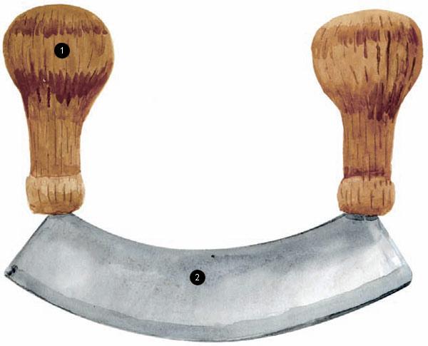 Фото №1 - Нож-меццалуна