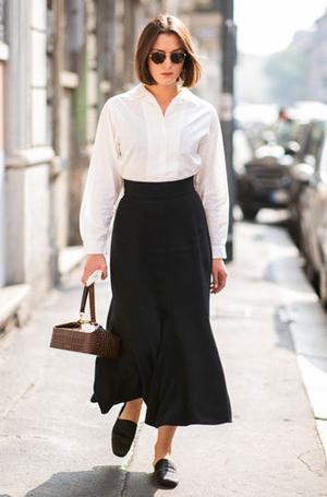 Фото №8 - С чем носить белую рубашку: стильные идеи на любой случай