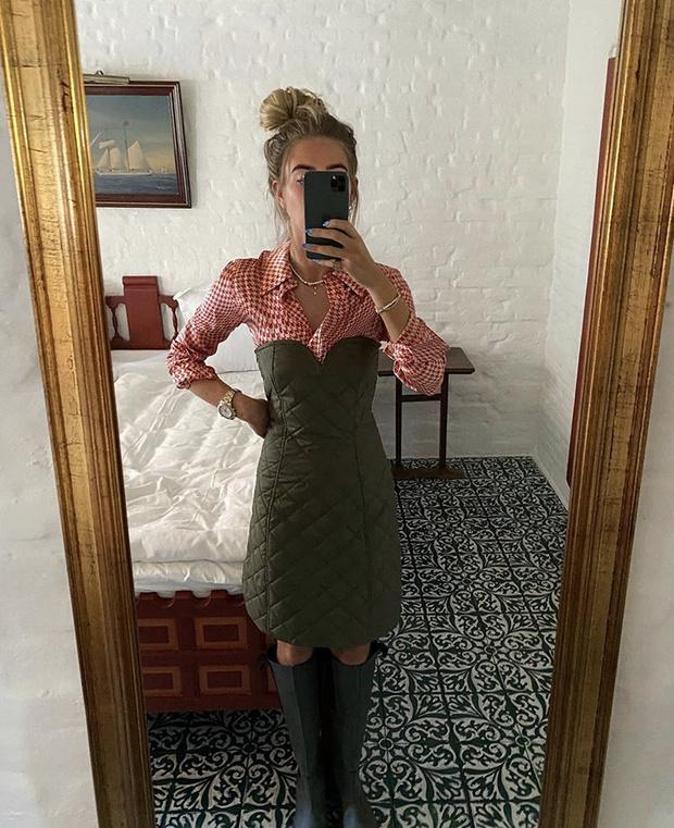 Фото №9 - С чем носить резиновые сапоги: показывают шведские и датские блогеры