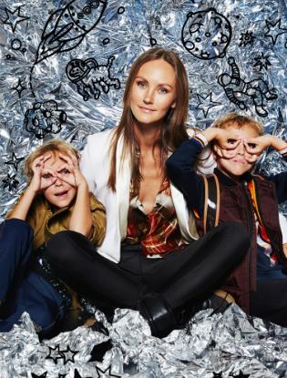 Фото №10 - Звездные мамы и дети в лукбуке H&M Studio Kids