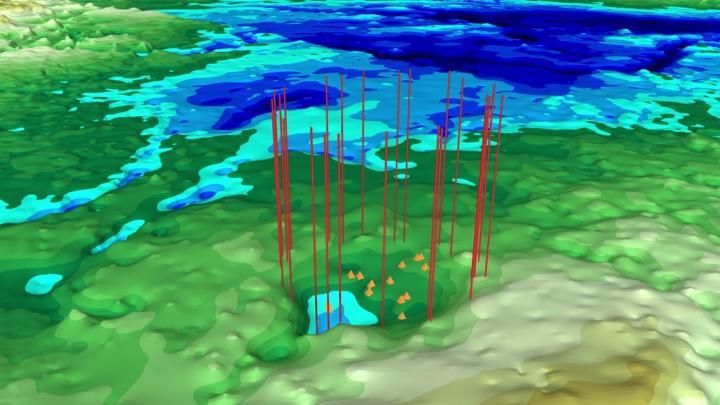 Фото №1 - Подо льдом Гренландии обнаружен второй ударный кратер