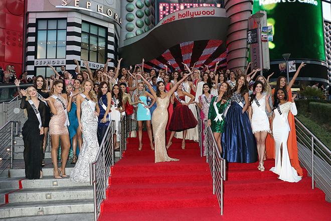 В Лас Вегасе стартовал конкурс Мисс Вселенная – 2015