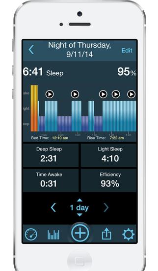 MotionX 24/7 приложение