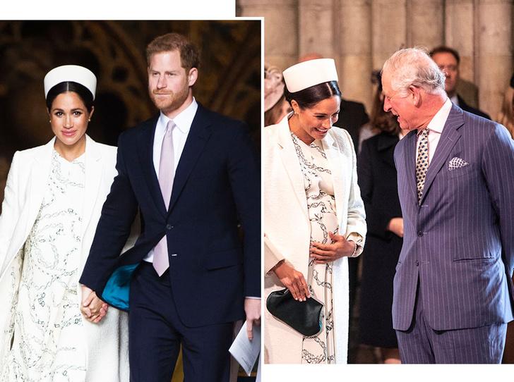 Фото №1 - Принц Чарльз намекнул на дату рождения первенца Сассекских