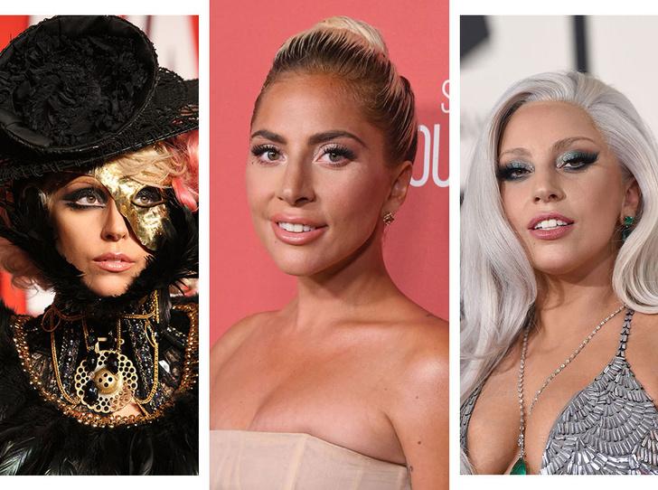 Фото №1 - Как хорошела Леди Гага: все о громких бьюти-экспериментах звезды