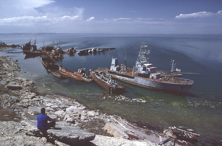 Фото №1 - Когда исчезнет Каспийское море