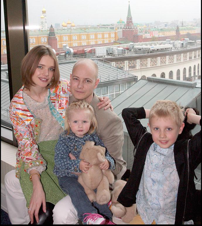 Наталья Водянова и Джастин Портман