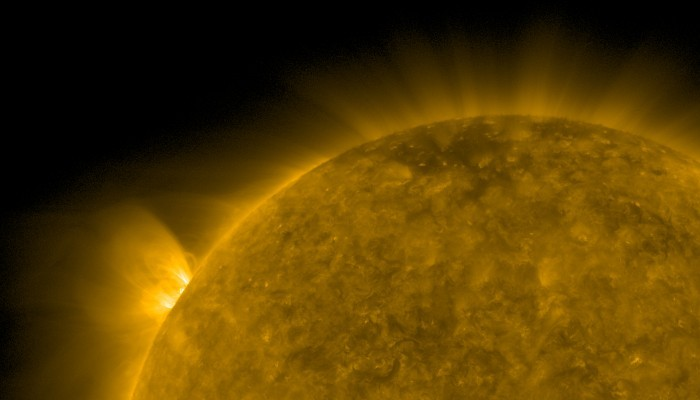 Фото №1 - На Солнце произошла самая крупная вспышка за последние три года