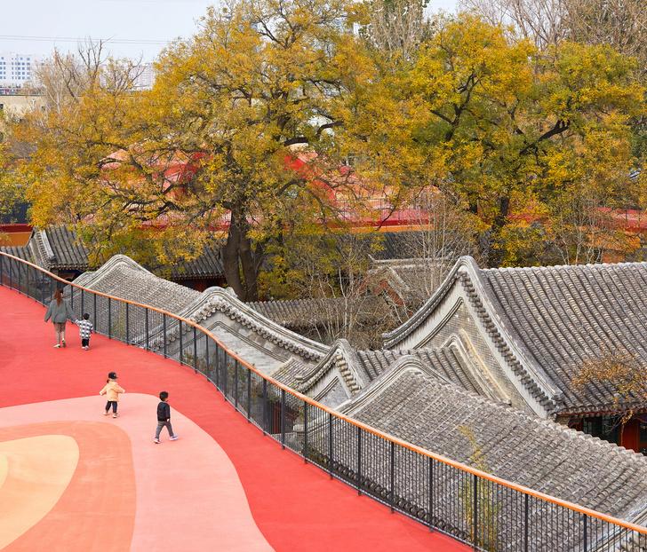 Фото №2 - Детский сад с игровой площадкой на крыше