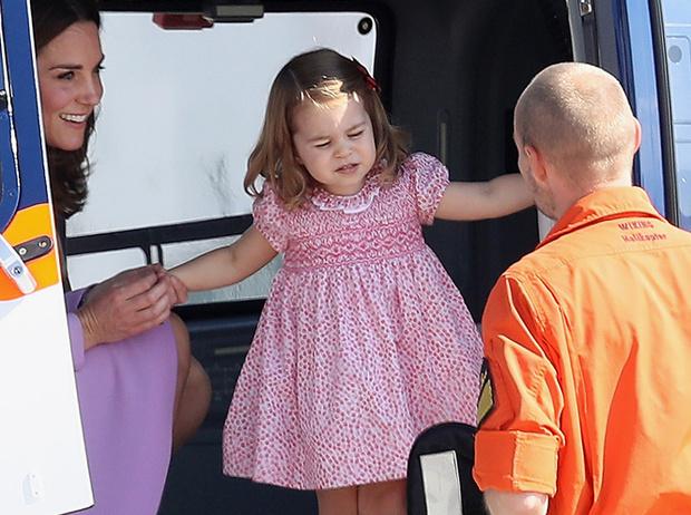 Фото №5 - Первые слезы Шарлотты: принцесса впервые показала характер