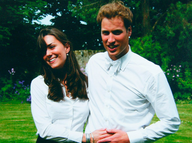 Фото №19 - Такими мы их не видели: 14 редких университетских фото Кейт и Уильяма